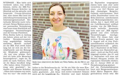 Seda Uzun wird Teil der IRB